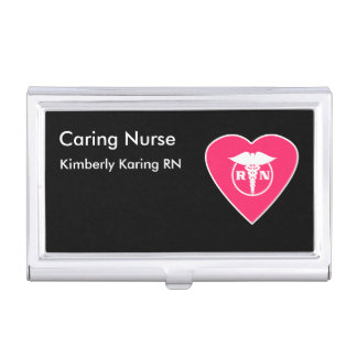 Krankenschwester-Visitenkarte-Kasten Visitenkarten Dose
