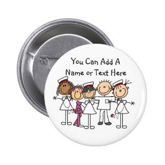 Krankenschwester-Wochen-T - Shirts und Geschenke Runder Button 5,1 Cm