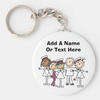Krankenschwester-Wochen-T-Shirts und Geschenke Schlüsselanhänger