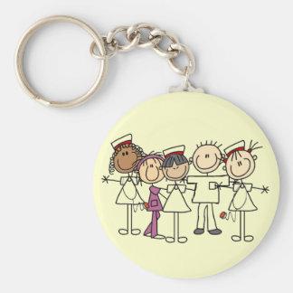 Krankenschwester-Wochen-T-Shirts und Geschenke Standard Runder Schlüsselanhänger