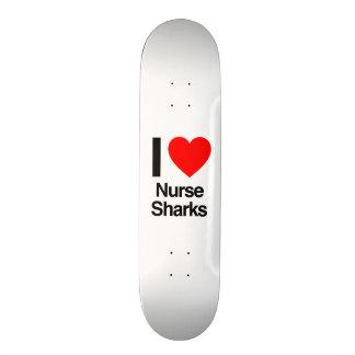 Krankenschwesterhaifische der Liebe I Personalisiertes Skatedeck