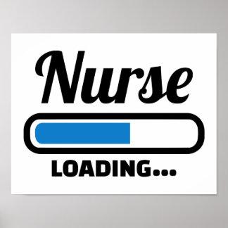 Krankenschwesterladen Poster