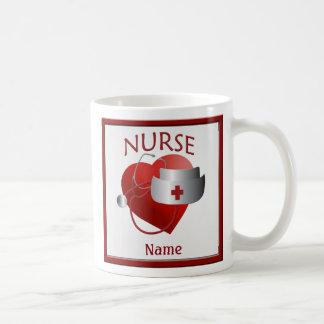 Krankenschwestern haben Herz-kundenspezifische Kaffeetasse