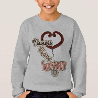 Krankenschwestern haben Herz Sweatshirt