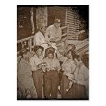 Krankenschwestern in der pazifischen erhaltenen postkarte