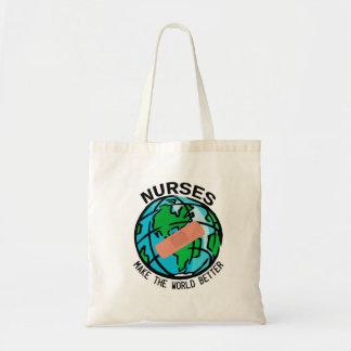 Krankenschwestern machen die Welt bessere Tasche