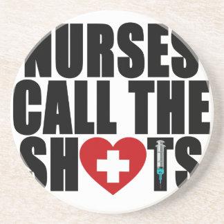 Krankenschwestern nennen das shots.png sandstein untersetzer