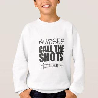 Krankenschwestern nennen die Schüsse Sweatshirt