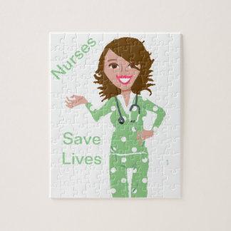 Krankenschwestern retten die Leben Jigsaw Puzzles