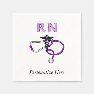 Krankenschwestern RN-Stethoskop Papierservietten