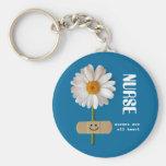Krankenschwestern sind alles Herz. Lächelndes Schlüsselanhänger