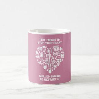Krankenschwestern sind niedlich u. intelligent kaffeetasse