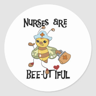 Krankenschwestern sind schöne Aufkleber