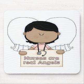 Krankenschwestern sind wirkliche Engel - mousepad