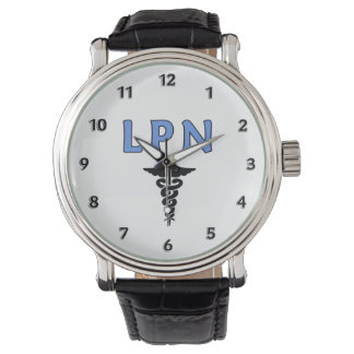 KrankenschwesternLPN Caduceus Uhren