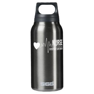 Krankenschwestertägliches Isolierte Flasche