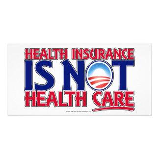 Krankenversicherungs-Gesundheitswesen Fotokarte