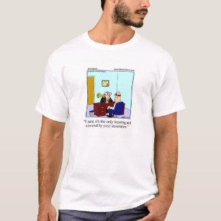 Krankenversicherungs-Spaß-T-Shirt T-Shirt