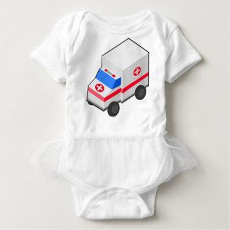 Krankenwagen Baby Strampler