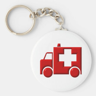 Krankenwagen/EMT Schlüsselanhänger