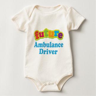 Krankenwagen-Fahrer (Zukunft) für Kind Baby Strampler