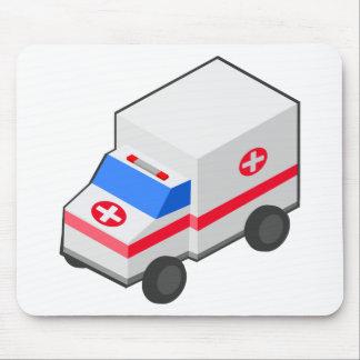 Krankenwagen Mousepad