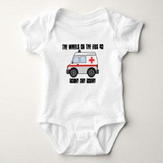 Krankenwagen-Strampler Baby Strampler