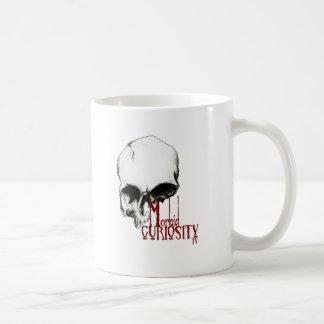 Krankhafte Neugier Fernsehoffizielle Waren Kaffeetasse