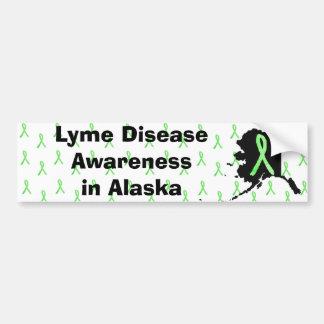 Krankheit Alaskas Lyme Awaremess Autoaufkleber