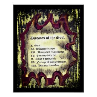 Krankheiten des Souls Poster