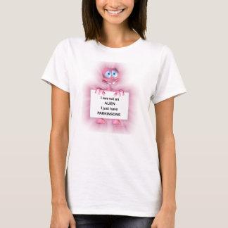 Krankheits-Spaß-T-Shirt der Damen-Parkinsons T-Shirt