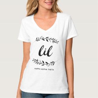 Kranz des Kappa-Alpha Theta-| Lil T-Shirt