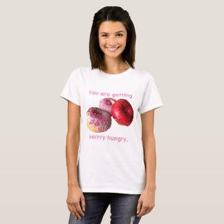 Krapfen erhalten Sie sehr hungriges T-Shirt