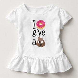 Krapfen I geben ein gekackte emoji Kleinkind T-shirt