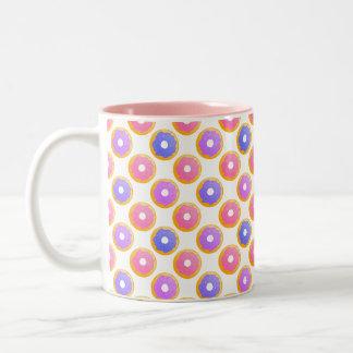 Krapfen mit besprüht - Tasse