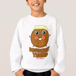 Krapfen-Trumpf Sweatshirt