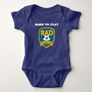 KRASSES Babykörper-Shirt Baby Strampler