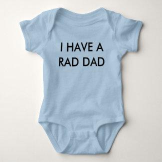 Krasses Vati-Baby-Shirt Baby Strampler