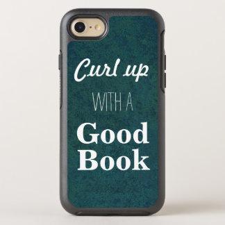 Kräuseln Sie sich oben mit einem guten Buch OtterBox Symmetry iPhone 8/7 Hülle
