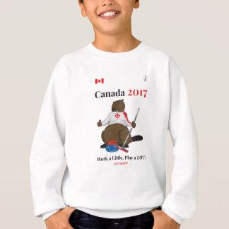Kräuselnarbeit Kanadas 150 im Jahre 2017 Sweatshirt