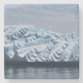 Kräuselungen im Alaska-Eisberg-Untersetzer Steinuntersetzer