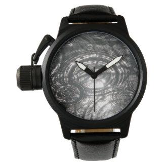 Kräuselungen im Wasser (Uhr) Armbanduhr