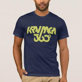 Krav Maga 360 - dunkelblau/Gelb T-Shirt