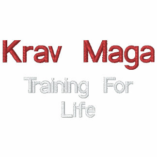 Krav Maga, bildend für das Leben aus Bestickte Fleece Track Jacke