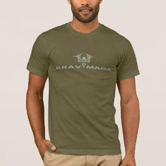 Krav Maga Militärgrün T-Shirt