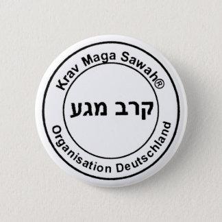 Krav Maga Sawah Organisation Deutschland Runder Button 5,7 Cm