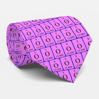 Krawatte des Elements 8 - Sauerstoff