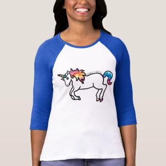 Krawatte gefärbter Unicorn T-Shirt