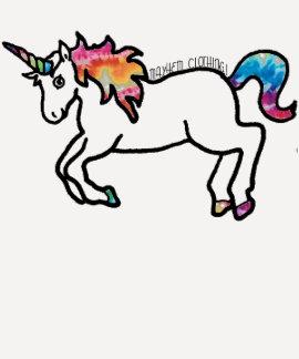 Krawatte gefärbter Unicorn