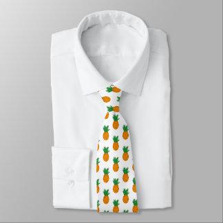 Krawatte mit Ananas